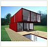 Lo-tek shipping container home design